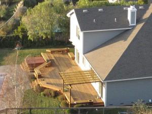 terrassen berdachungen aus holz kaufen oder selber bauen. Black Bedroom Furniture Sets. Home Design Ideas