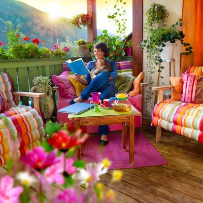 sichtschutz f r den balkon garten blog. Black Bedroom Furniture Sets. Home Design Ideas
