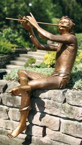 Figur Floetenspieler