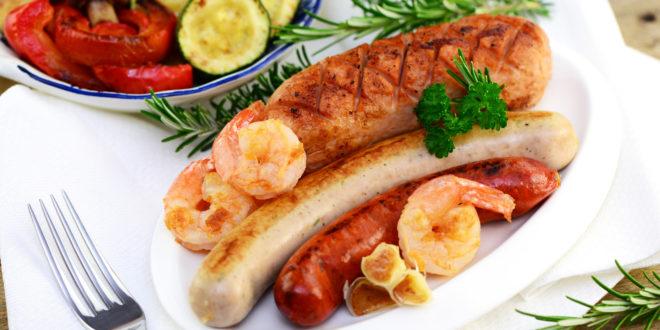 Kochen mit einer Outdoor-Küche