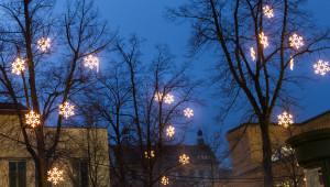 weihnachtliche Lichterketten