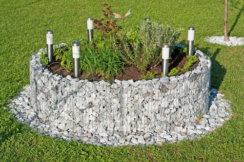 Wie Sie Gabionen Selber Bauen Können Garten Blog