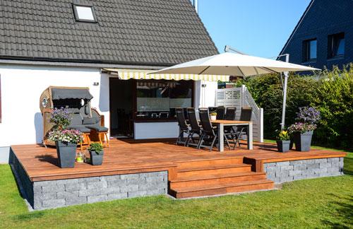 Terrasse garten blog - Terrasse hoher als garten ...