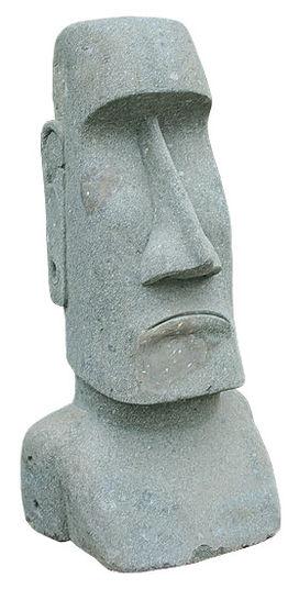 Moai-Kopf