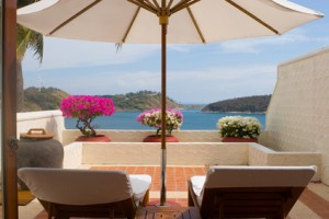 Sonnenschirm für die Terrasse