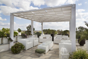 Terrasse-stoffdach