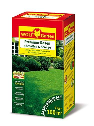 wolf garten premium rasen schatten sonne lp100. Black Bedroom Furniture Sets. Home Design Ideas