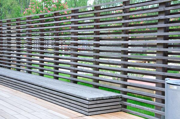 lamellenzaun garten blog. Black Bedroom Furniture Sets. Home Design Ideas