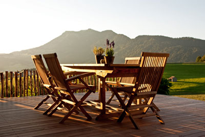 gartenm bel richtig pflegen garten blog. Black Bedroom Furniture Sets. Home Design Ideas