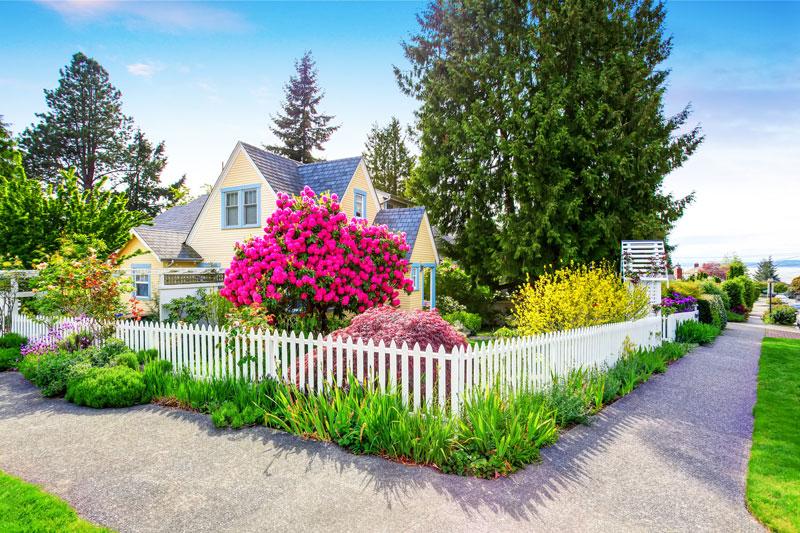 Der Richtige Zaun Passend Fur Ihr Haus Garten Blog