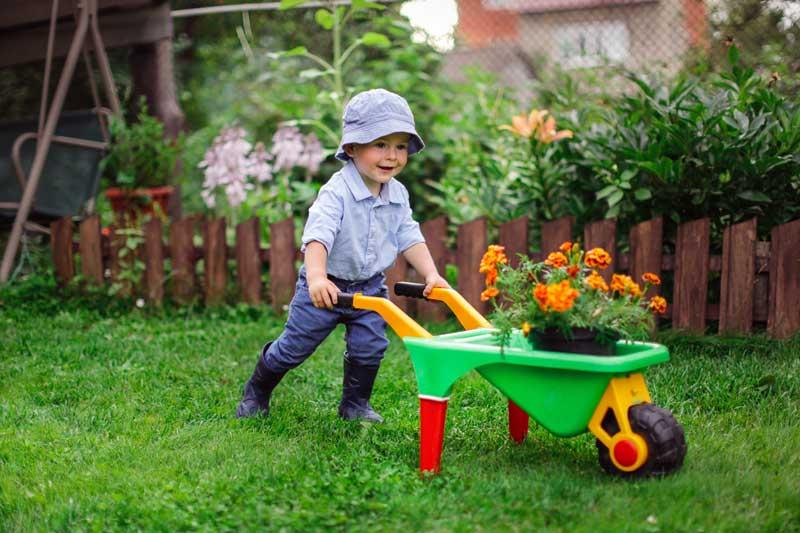 Kinder für den Garten begeistern