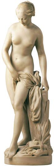 skulptur badende